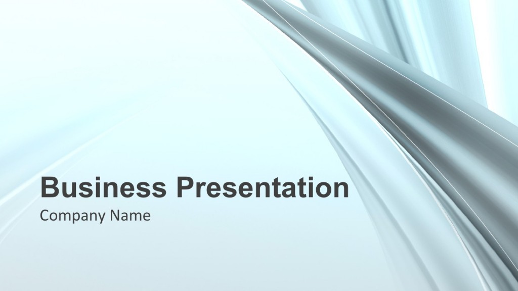 Cyan Style PowerPoint Template